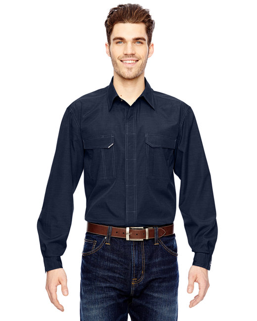 Dri Duck Men's Field Shirt - Deep Blue