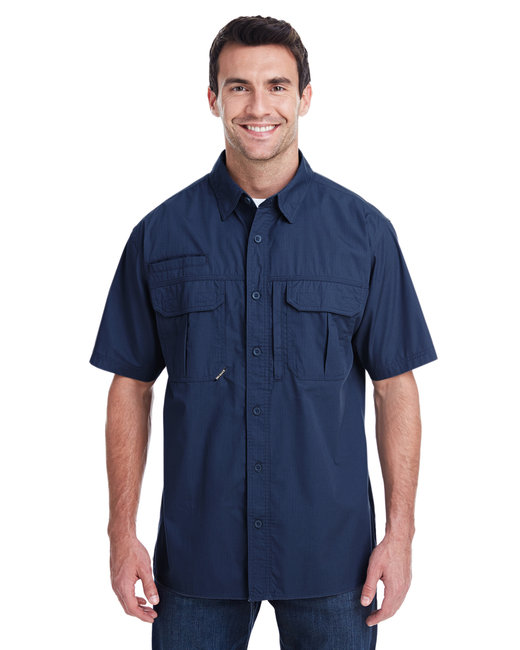 Dri Duck Men's Utility Shirt - Deep Blue