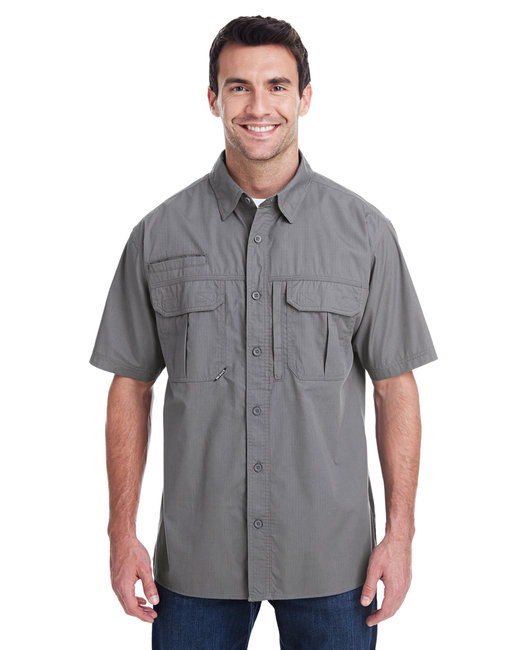 Dri Duck Men's Utility Shirt - Gunmetal