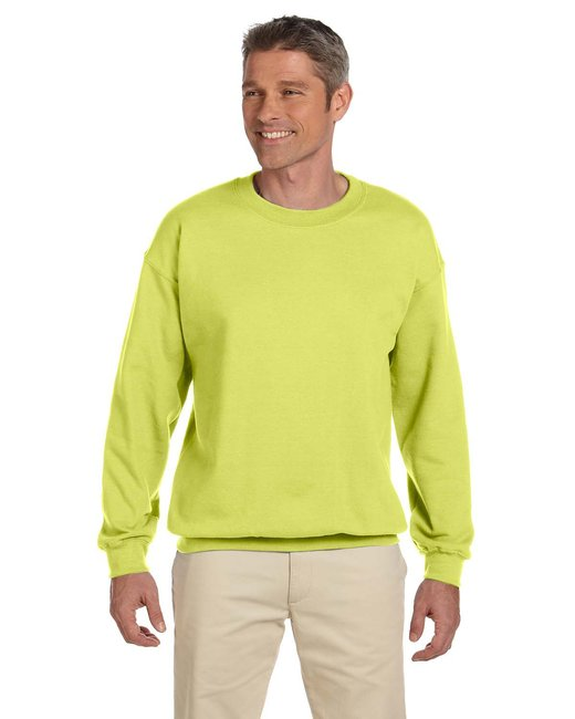 Jerzees Adult 9.5 oz. Super Sweats® NuBlend® Fleece Crew - Safety Green