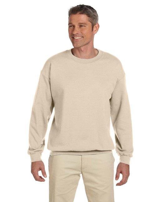 Jerzees Adult 9.5 oz. Super Sweats® NuBlend® Fleece Crew - Sandstone