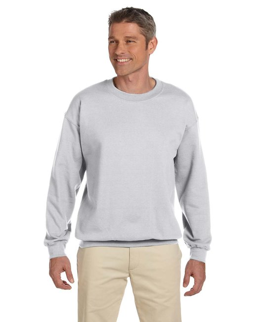 Jerzees Adult 9.5 oz. Super Sweats® NuBlend® Fleece Crew - Ash