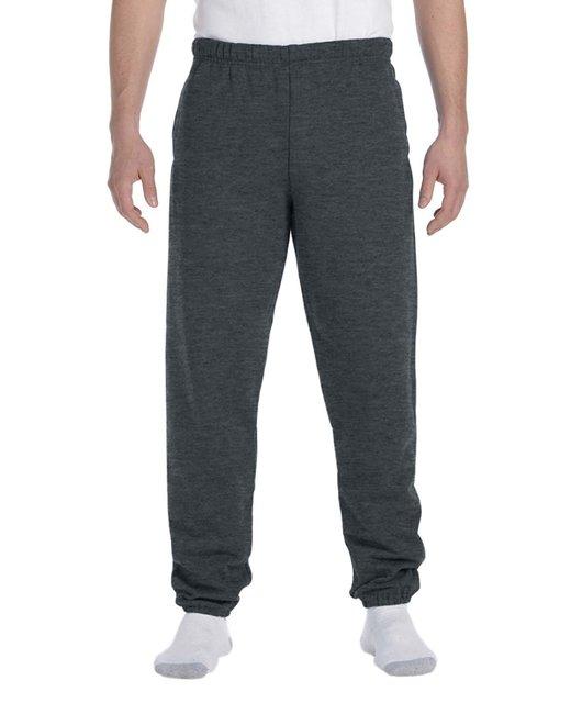 Jerzees Adult 9.5 oz. Super Sweats® NuBlend® Fleece Pocketed Sweatpants - Black Heather