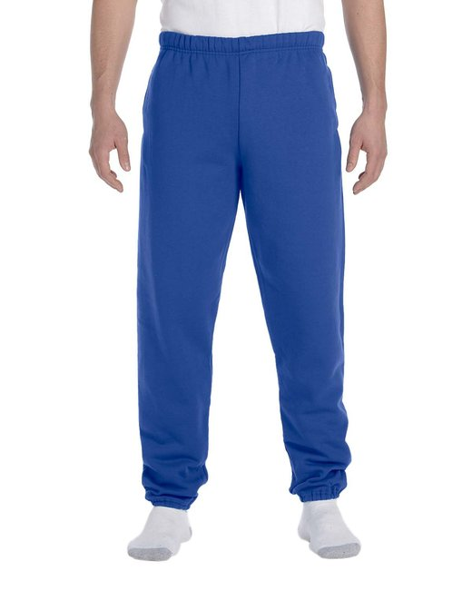 Jerzees Adult 9.5 oz. Super Sweats® NuBlend® Fleece Pocketed Sweatpants - Royal
