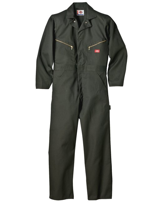 Dickies 7.5 oz. Deluxe Coverall - Olive Green  L