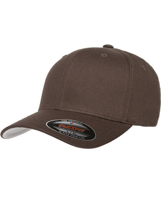 Flexfit Adult Value Cotton Twill Cap - Brown