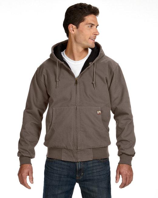 Dri Duck Men's Tall Cheyenne Jacket - Gravel
