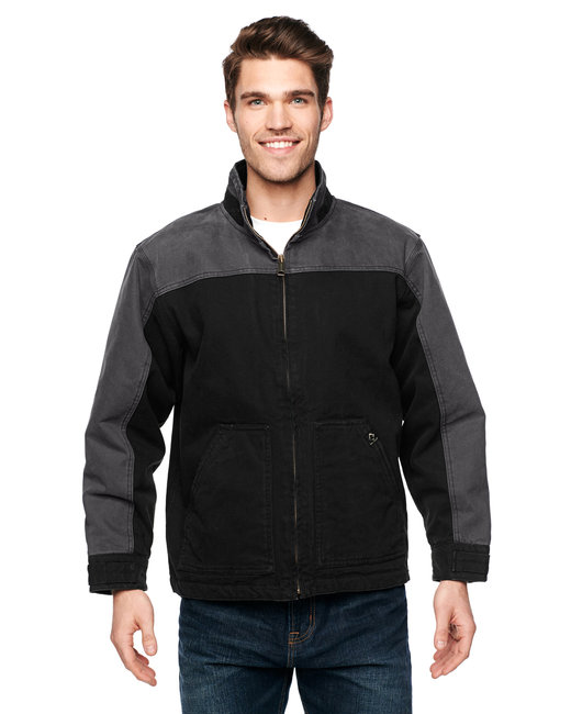 Dri Duck Men's Horizon Jacket - Black/ Charcoal