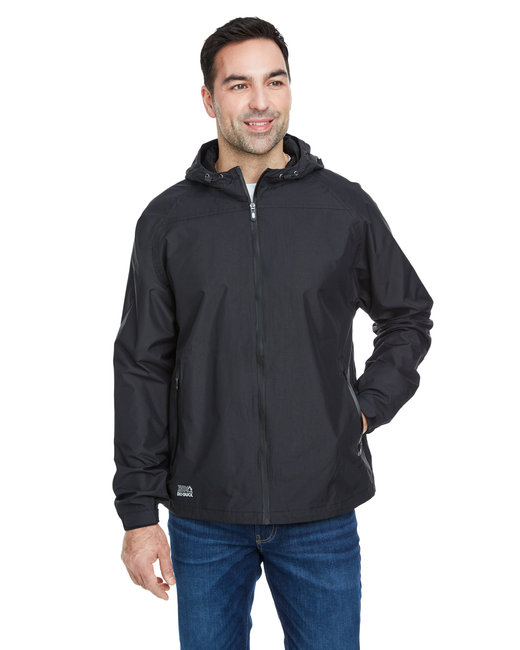 Dri Duck Men's Torrent Waterproof Hooded Jacket - Black