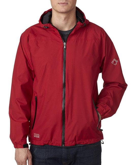 Dri Duck Men's Torrent Waterproof Hooded Jacket - Red