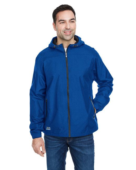 Dri Duck Men's Torrent Waterproof Hooded Jacket - Tech Blue