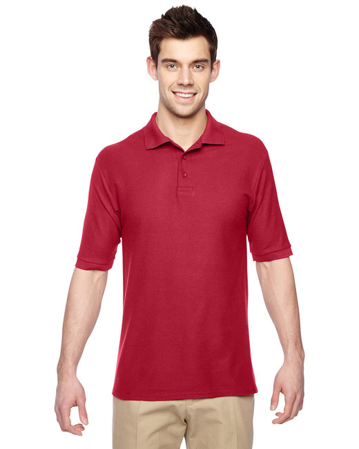 Jerzees Adult 5.3 oz. Easy Care™ Polo - True Red