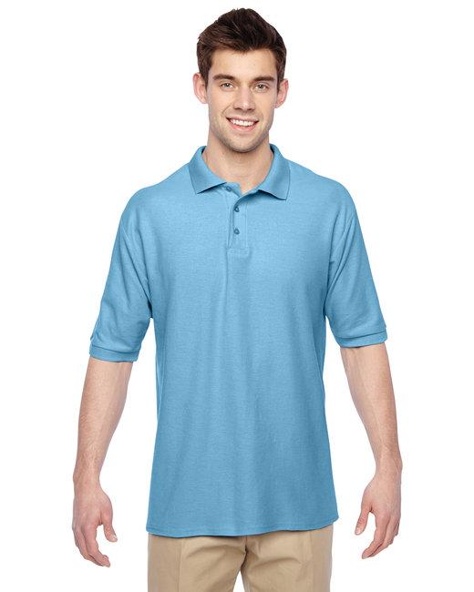 Jerzees Adult 5.3 oz. Easy Care™ Polo - Light Blue