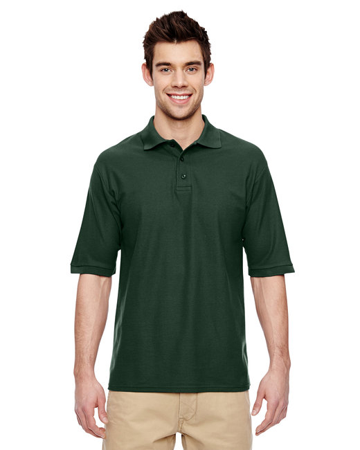 Jerzees Adult 5.3 oz. Easy Care™ Polo - Forest Green