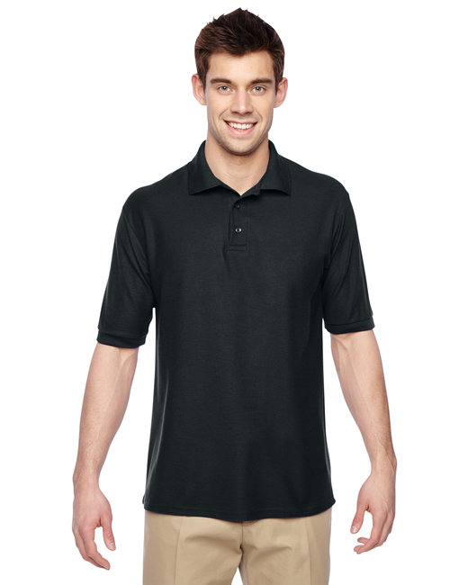 Jerzees Adult 5.3 oz. Easy Care™ Polo - Black
