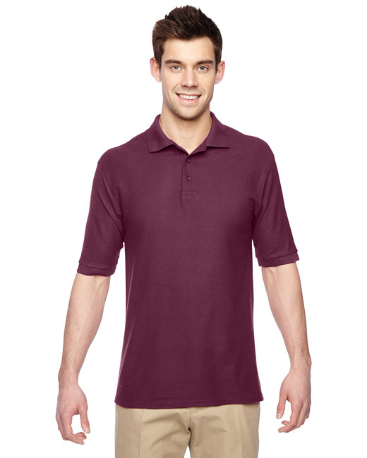 Jerzees Adult 5.3 oz. Easy Care™ Polo - Maroon
