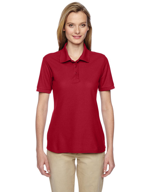 Jerzees Ladies' 5.3 oz. Easy Care™ Polo - True Red