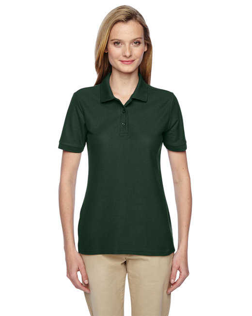Jerzees Ladies' 5.3 oz. Easy Care™ Polo - Forest Green