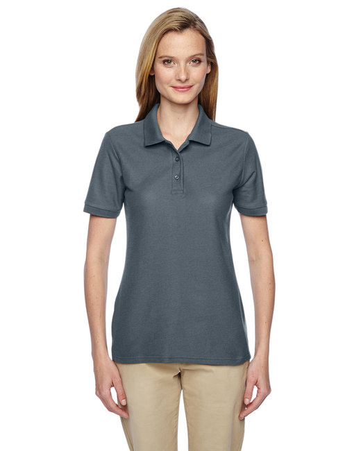 Jerzees Ladies' 5.3 oz. Easy Care™ Polo - Charcoal Grey