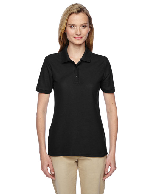 Jerzees Ladies' 5.3 oz. Easy Care™ Polo - Black
