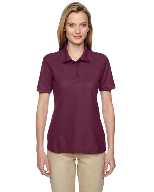Jerzees Ladies' 5.3 oz. Easy Care™ Polo - Maroon
