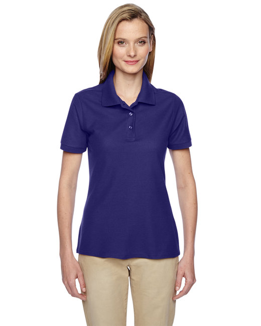 Jerzees Ladies' 5.3 oz. Easy Care™ Polo - Deep Purple