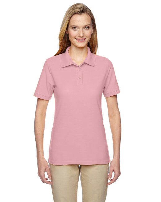 Jerzees Ladies' 5.3 oz. Easy Care™ Polo - Classic Pink