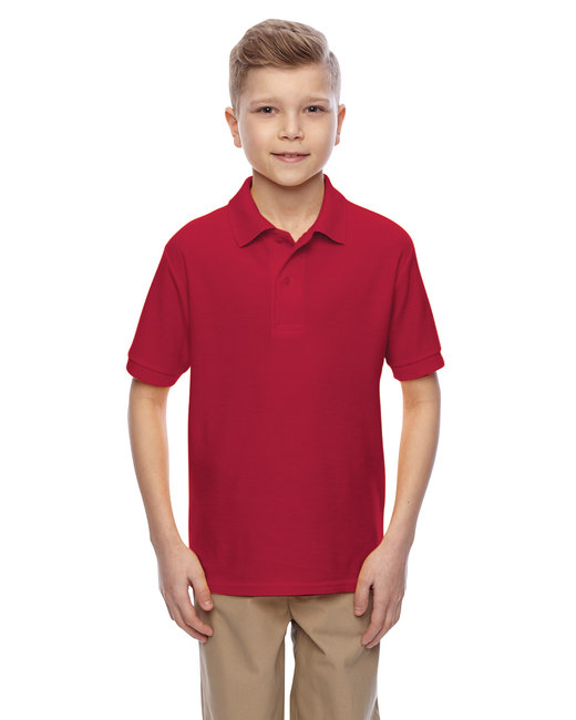 Jerzees Youth 5.3 oz. Easy Care™ Polo - True Red