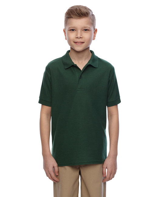 Jerzees Youth 5.3 oz. Easy Care™ Polo - Forest Green