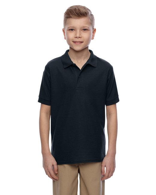 Jerzees Youth 5.3 oz. Easy Care™ Polo - Black
