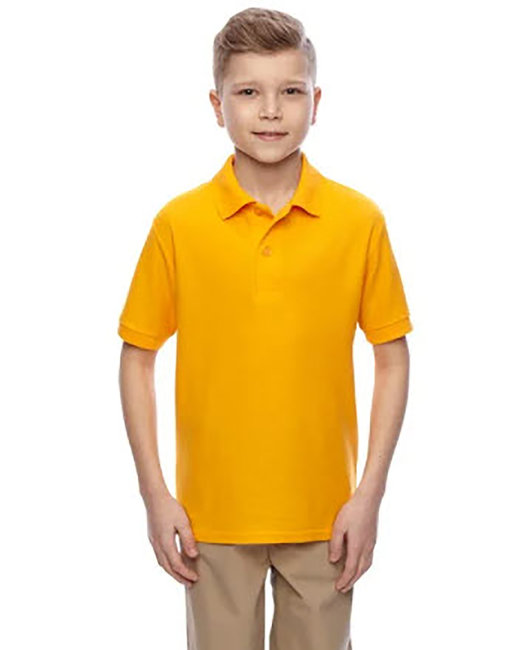 Jerzees Youth 5.3 oz. Easy Care™ Polo - Gold