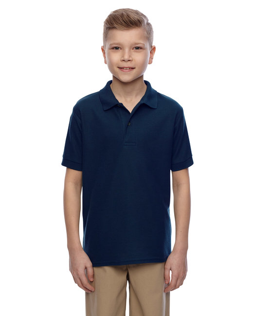 Jerzees Youth 5.3 oz. Easy Care™ Polo - J.navy