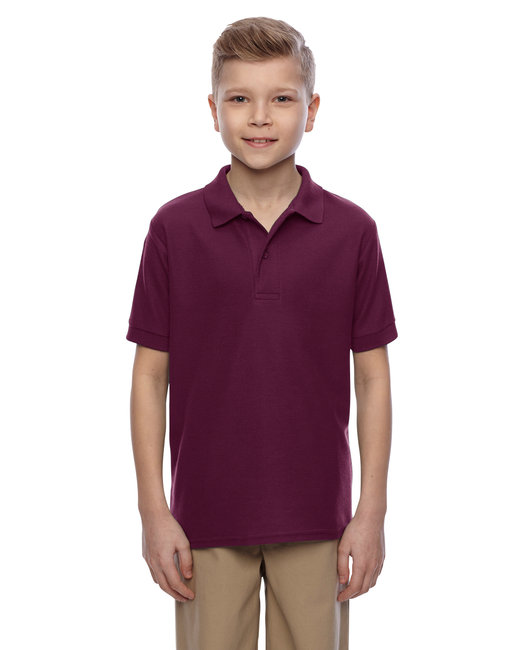 Jerzees Youth 5.3 oz. Easy Care™ Polo - Maroon