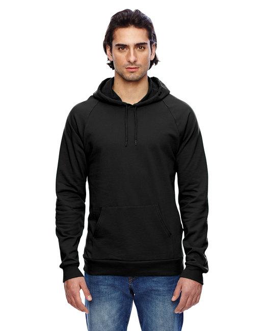 American Apparel Unisex California Fleece Pullover Hoodie - Black