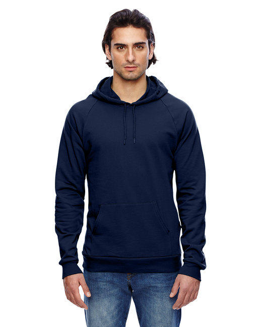 American Apparel Unisex California Fleece Pullover Hoodie - Navy
