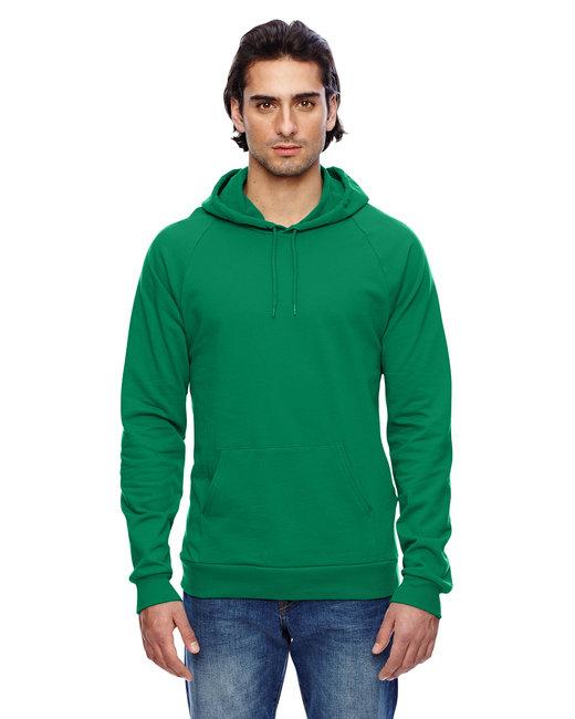 American Apparel Unisex California Fleece Pullover Hoodie - Kelly Green
