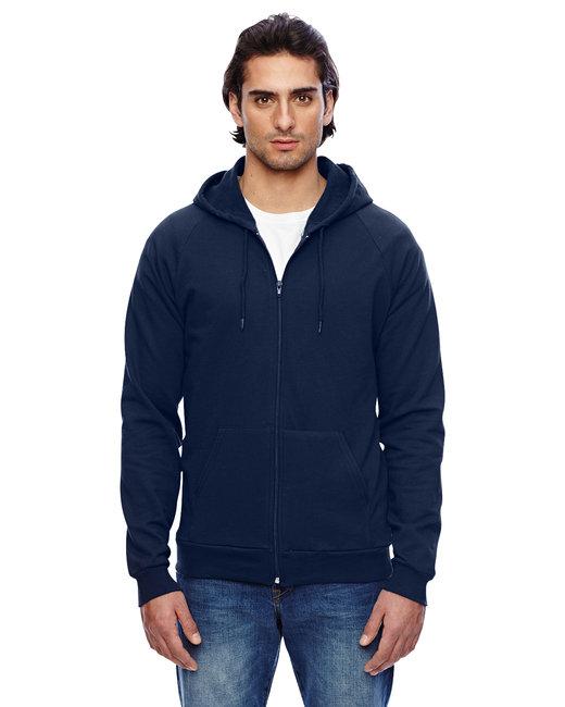 American Apparel Unisex California Fleece Zip Hoodie - Navy