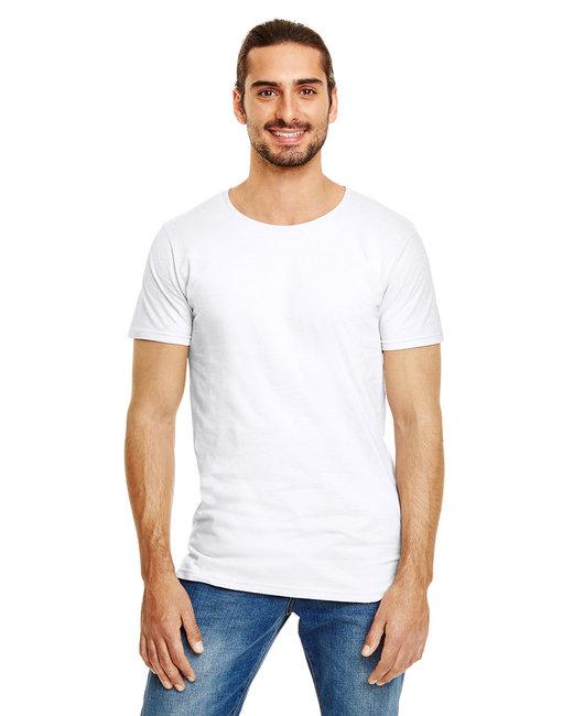 Anvil Adult Lightweight Long & Lean T-Shirt - White