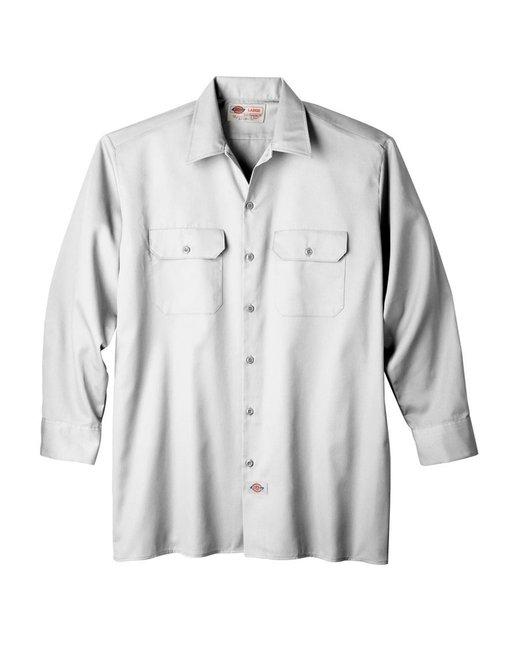 Dickies Men's 5.25 oz./yd² Long-Sleeve WorkShirt - White