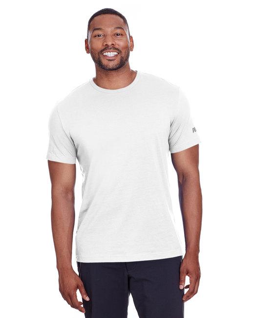 Puma Sport Adult Puma Essential Logo T-Shirt - Pma Wht/ Qut Shd