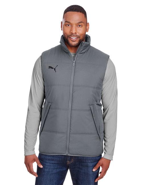 Puma Sport Adult Essential Padded Vest - Quiet Shd/ P Blk