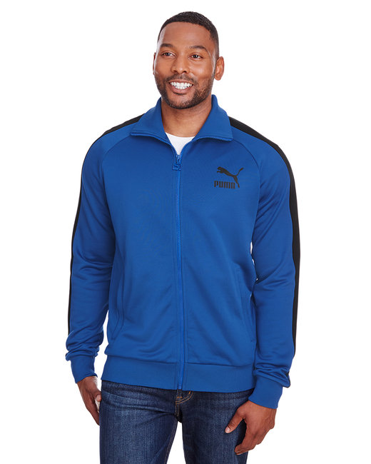 Puma Sport Adult Iconic T7 Track Jacket - Glxy Blue/ P Blk
