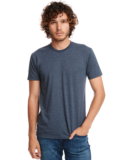 Next Level Men's Triblend Crew - Indigo