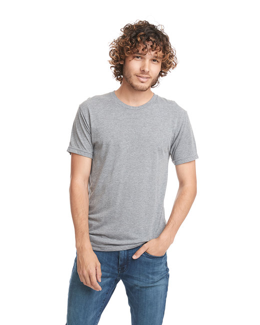 Next Level Men's Triblend Crew - Premium Heather