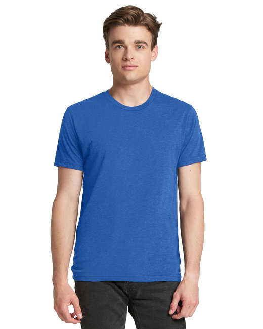 Next Level Men's Triblend Crew - Vintage Royal