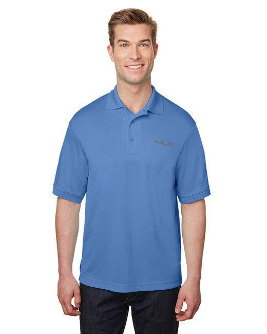 Columbia Men's Perfect Cast� Polo - White Cap Blue