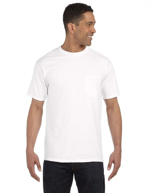 Comfort Colors Adult Heavyweight RS Pocket T-Shirt - White