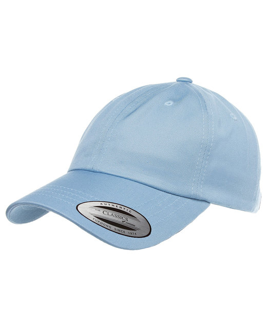 Yupoong Adult Low-Profile Cotton Twill Dad Cap - Light Blue
