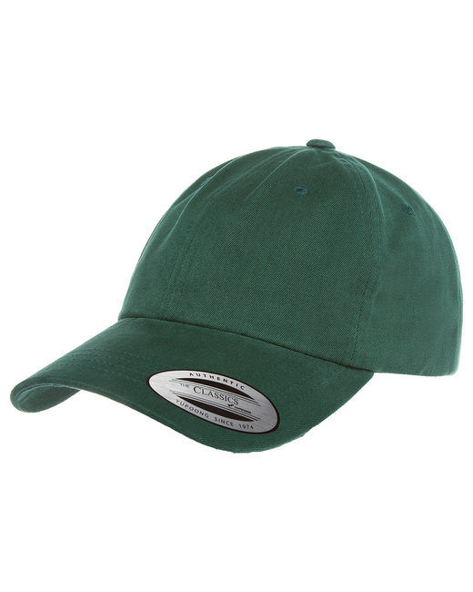 Yupoong Adult Low-Profile Cotton Twill Dad Cap - Spruce