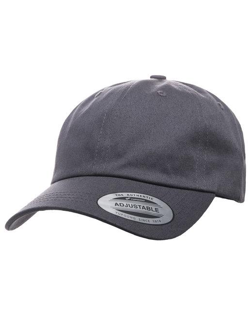 Yupoong Adult Low-Profile Cotton Twill Dad Cap - Dark Grey